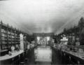 Interior of Charles Brady's pharmacy in Newton, NC